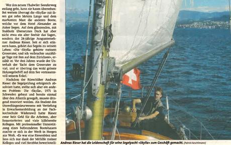 Artikel: Zürichsee Zeitung