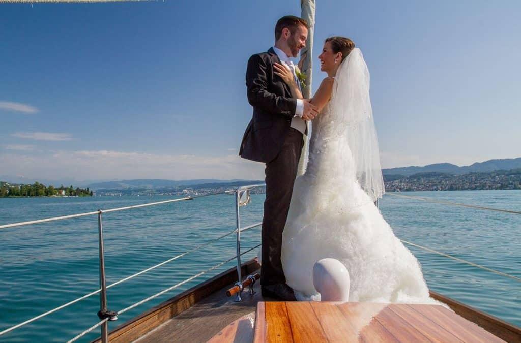 Hochzeitsfahrt – Fotoshooting