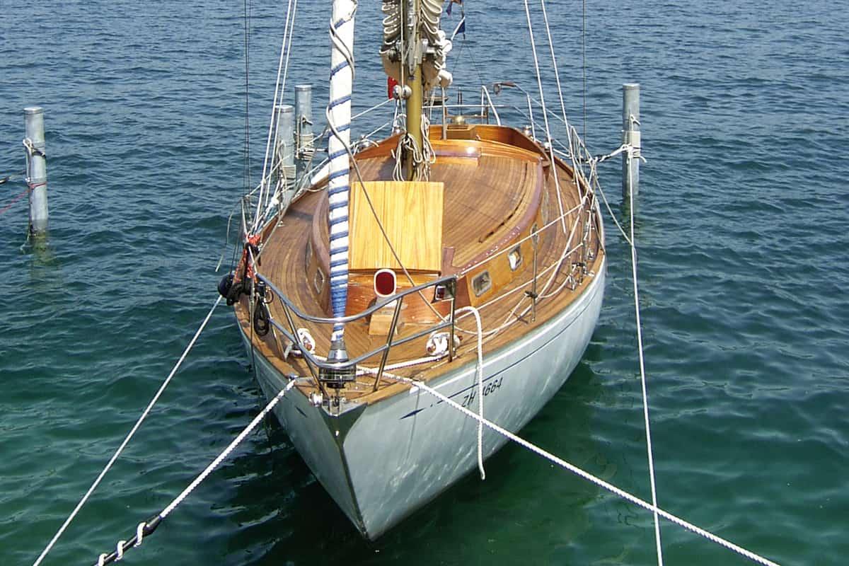 Oldtimer Segelyacht Skylla